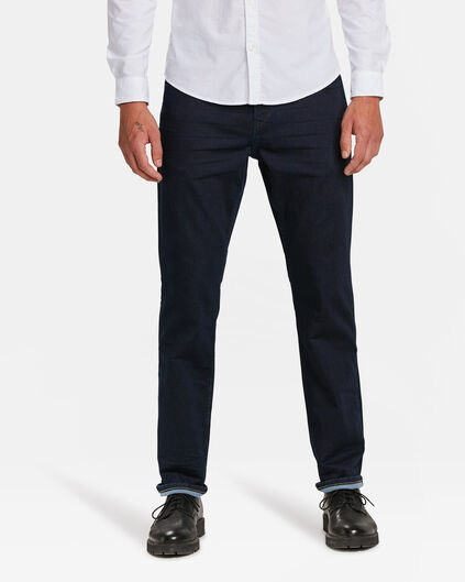 HEREN RELAXED TAPERED JOG DENIM Indigo