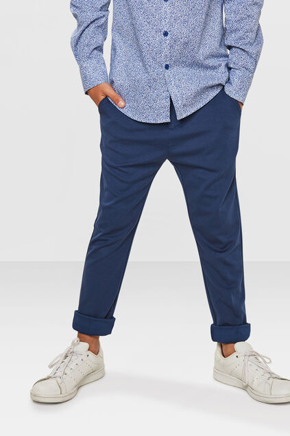 JONGENS REGULAR FIT KOSTUUM PANTALON Donkerblauw