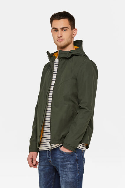 Heren windbreaker Groen