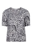 Dames dierenprint top, Wit