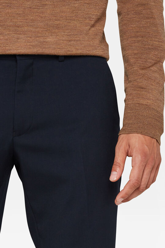 Heren regular fit dali pantalon Marineblauw