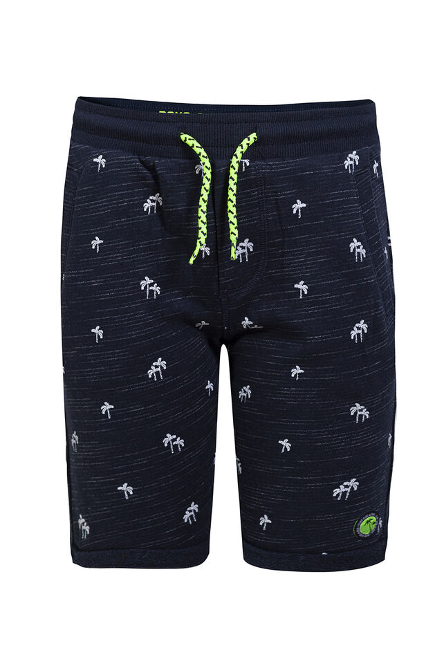 Jongens sweatshort met dessin All-over print