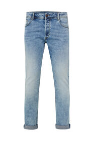 Heren slim fit jog denim jeans_Heren slim fit jog denim jeans, Lichtblauw