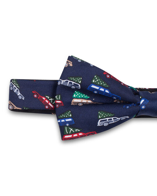 HEREN TRAFFIC BOW TIE Donkerblauw
