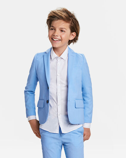 JONGENS REGULAR FIT BLAZER DALI Lavendel