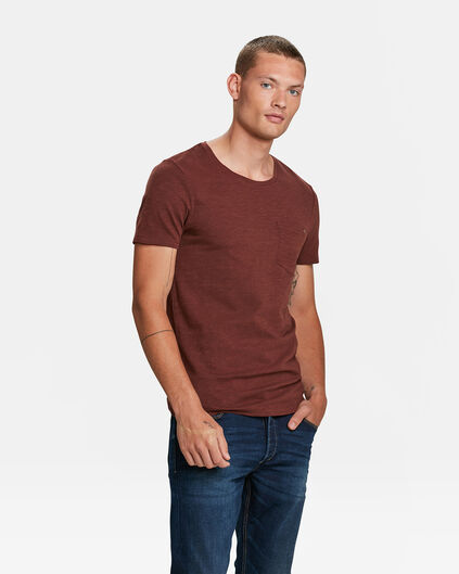 HEREN BLUE RIDGE T-SHIRT Roestbruin