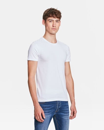 HEREN ORGANIC COTTON T-SHIRT Wit