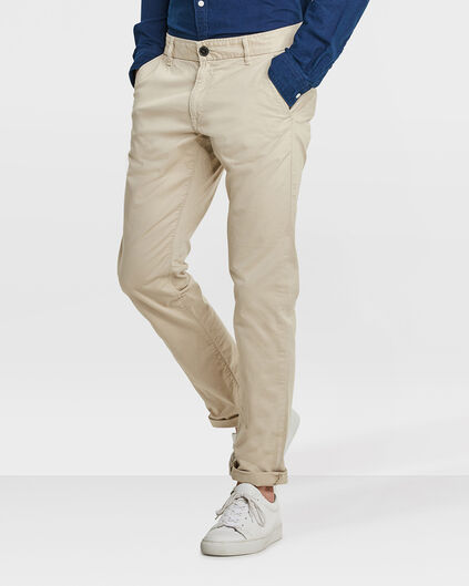 HEREN SLIM FIT CASUAL CHINO Caramel