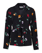 DAMES SLIM FIT BLOEMEN PRINT BLOUSE BLAZER_DAMES SLIM FIT BLOEMEN PRINT BLOUSE BLAZER, All-over print