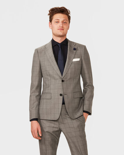 HEREN ULTRA SLIM FIT BLAZER WATSON Grijs