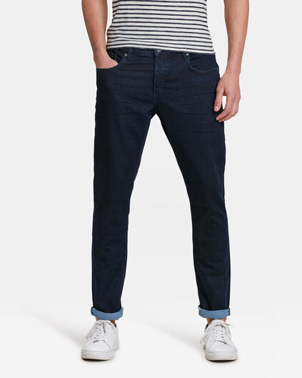 HEREN SLIM TAPERED JOG DENIM JEANS Indigo