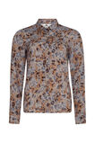 Dames geprinte blouse, All-over print