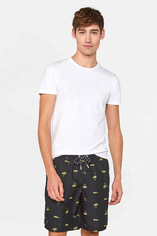 Heren tall fit zwemshort van gerecycled materiaal All-over print