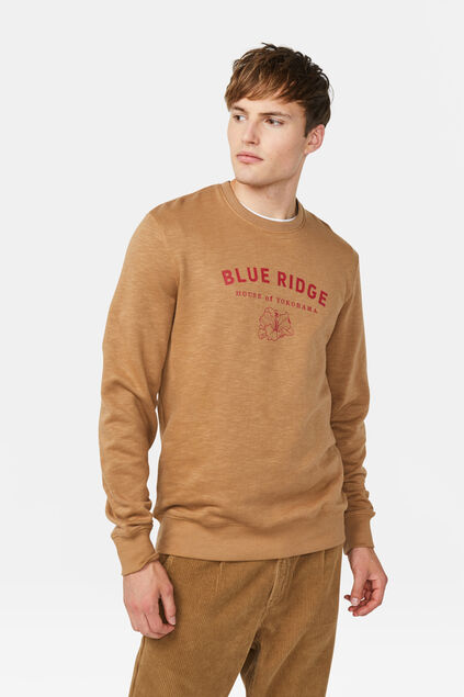 Heren Blue Ridge sweater Lichtbruin