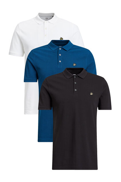 Heren Polo's - driedelige set