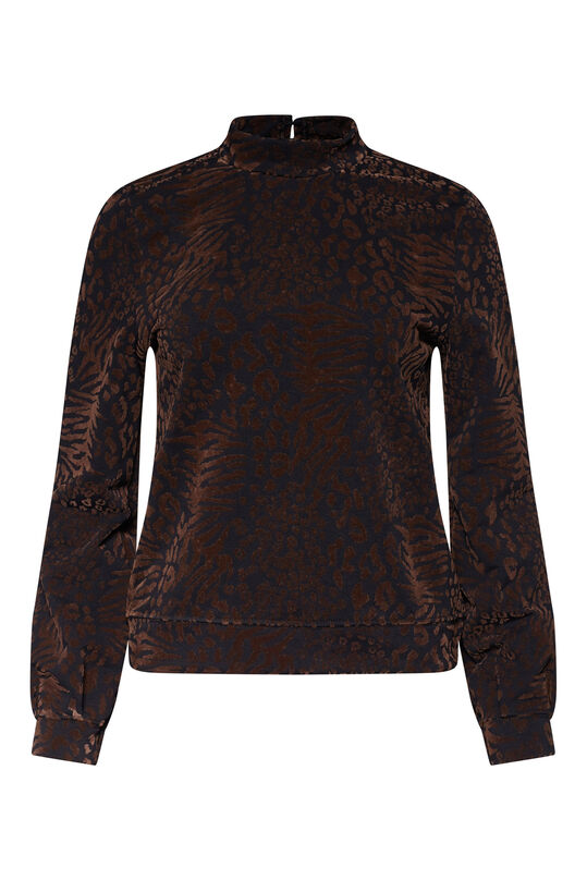 Dames dessin sweater All-over print