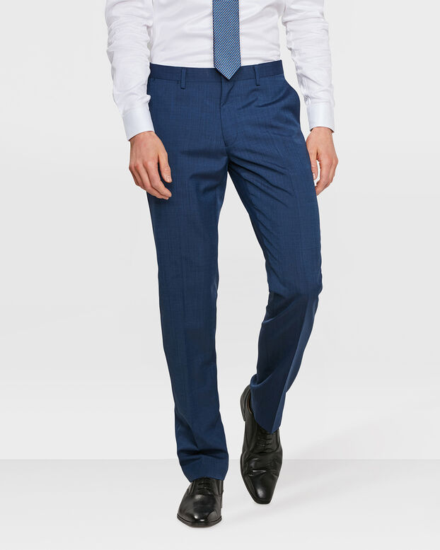 HEREN SLIM FIT PANTALON ELLIOT Donkerblauw