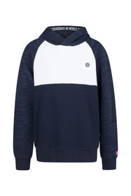Jongens colourblock sweater_Jongens colourblock sweater, Marineblauw