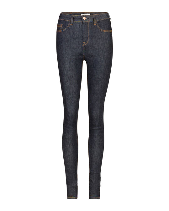 DAMES HIGH RISE SKINNY HIGH STRETCH JEANS Donkerblauw