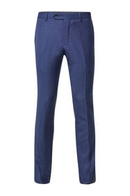 Heren regular fit pantalon Matera_Heren regular fit pantalon Matera, Blauw
