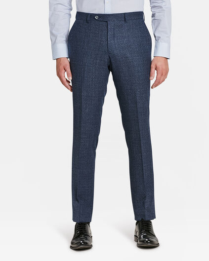 HEREN SLIM FIT PANTALON LISBURN Marineblauw