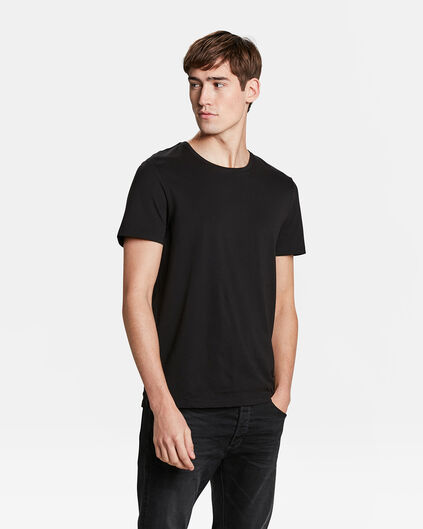 HEREN T-SHIRT Zwart