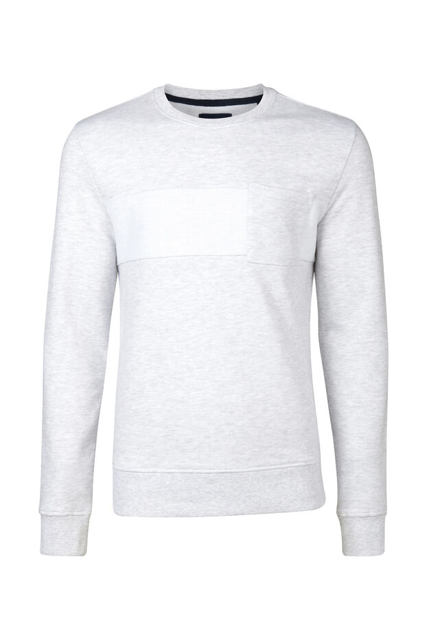 HEREN SWEATER Wit
