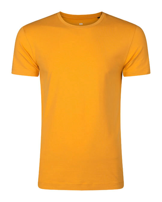 Heren T-shirt Goud