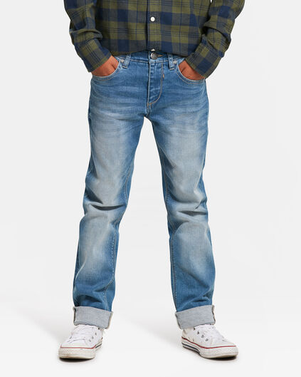 JONGENS SLIM FIT POWERSTRETCH JEANS Lichtblauw