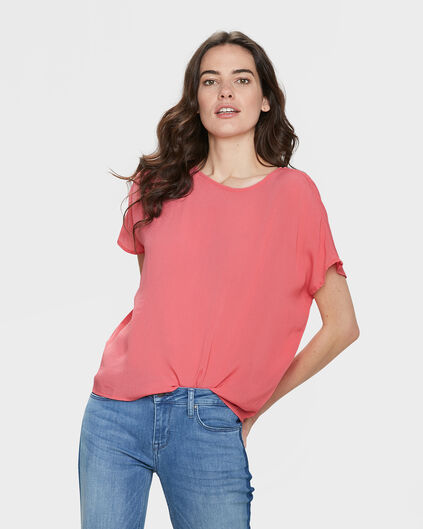 DAMES BOXY FIT TOP Roze