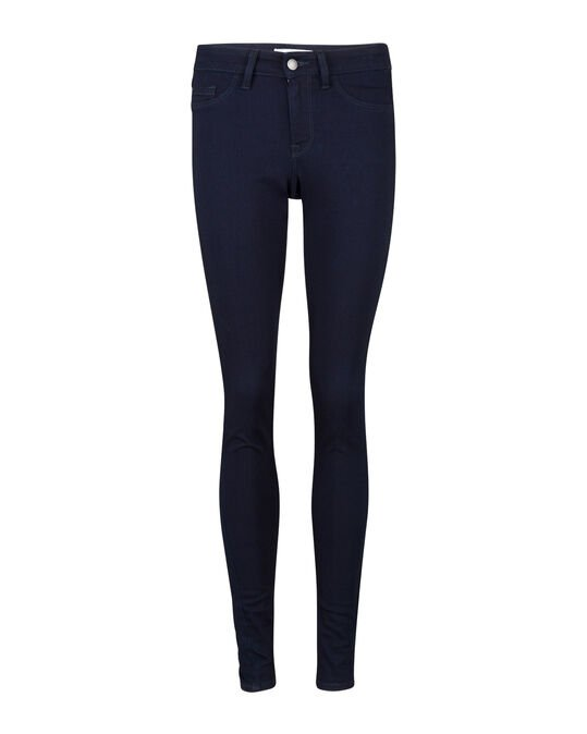 DAMES MID RISE SUPER SKINNY HIGH STRETCH JEGGING Blauw