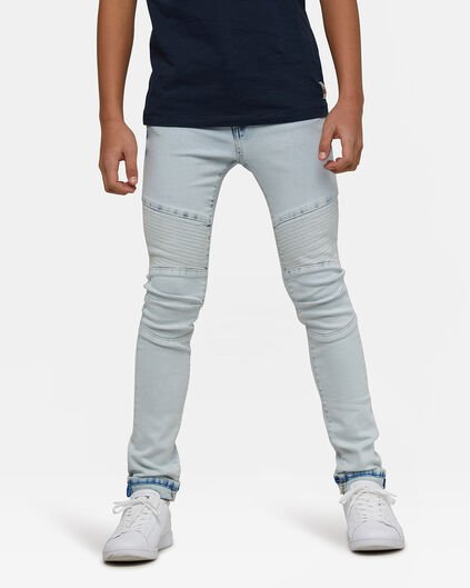 Jongens Super Skinny Fit super stretch jeans Lichtblauw