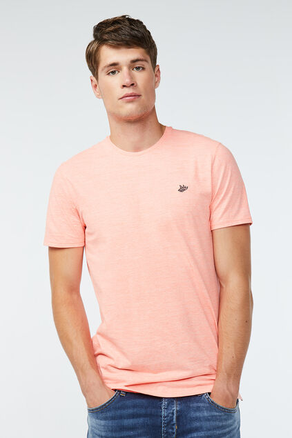 Heren neon T-shirt Feloranje