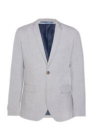 Heren regular fit blazer Dali_Heren regular fit blazer Dali, Lichtgrijs