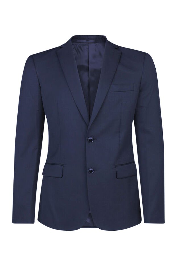 HEREN SLIM FIT BLAZER TOM Marineblauw