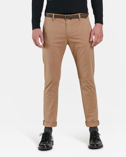 HEREN SKINNY FIT CHINO Beige