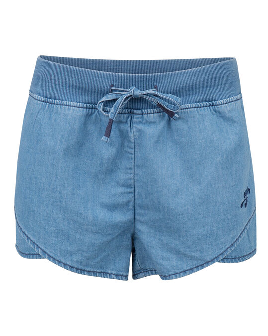 MEISJES REGULAR FIT DENIM SHORT Lichtblauw