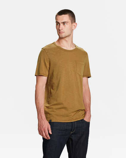 HEREN GARMENT DYED T-SHIRT Beige