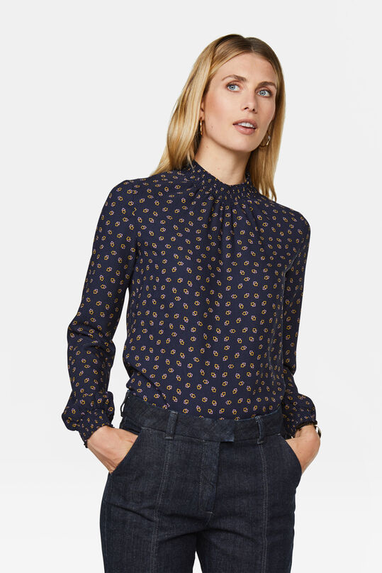 Dames blouse Donkerblauw