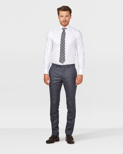 HEREN SLIM FIT PANTALON TODD Donkerblauw