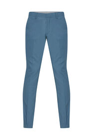 Heren slim fit pantalon van gerecycled materiaal Dali_Heren slim fit pantalon van gerecycled materiaal Dali, Blauw