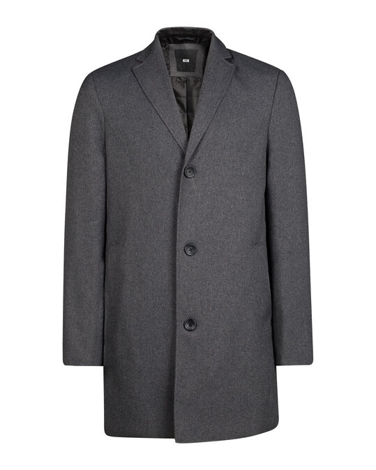 HEREN TOPCOAT Grijs