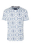 Heren T-shirt met dessin, All-over print
