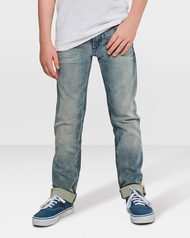 JONGENS SKINNY FIT JOG DENIM Grijs