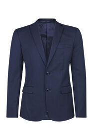 HEREN SLIM FIT BLAZER TOM_HEREN SLIM FIT BLAZER TOM, Marineblauw