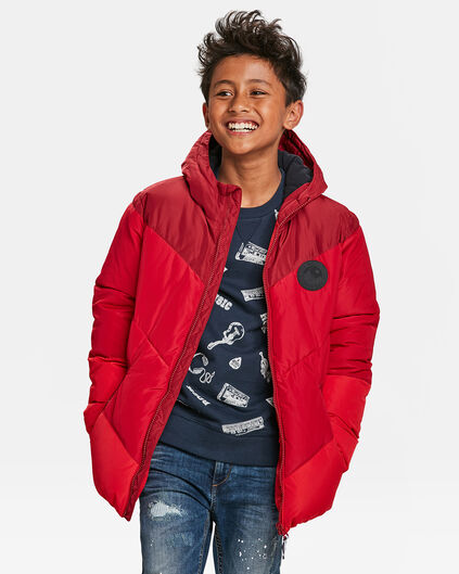 JONGES PUFFER JACKET Felrood