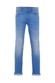 Heren skinny fit super stretch jeans_Heren skinny fit super stretch jeans, Blauw