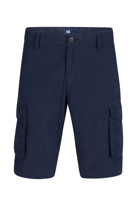 Heren relaxed fit cargo short Donkerblauw