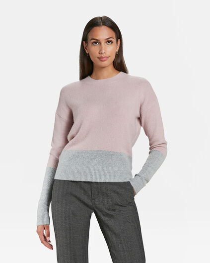DAMES COLOURBLOCK TRUI Multikleur