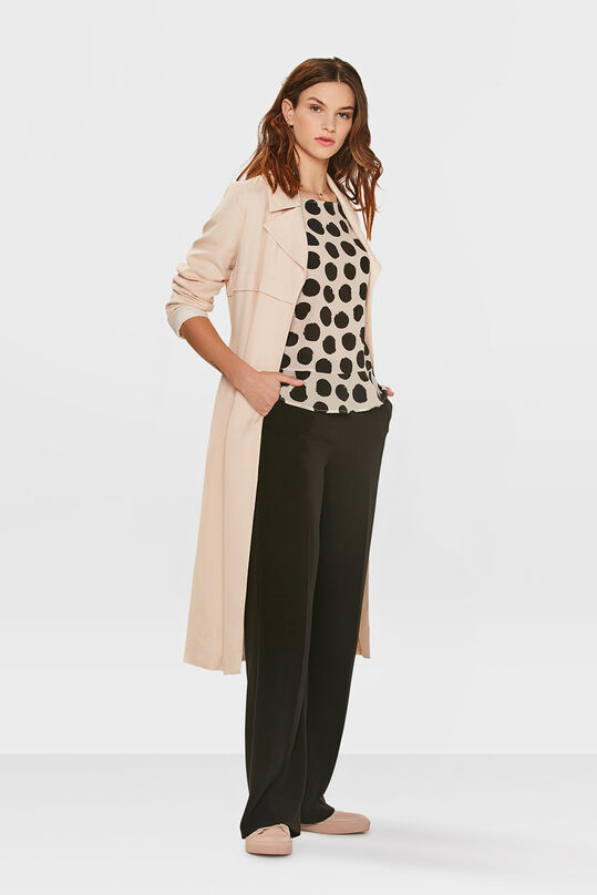 DAMES LYOCELL TRENCHCOAT Lichtroze
